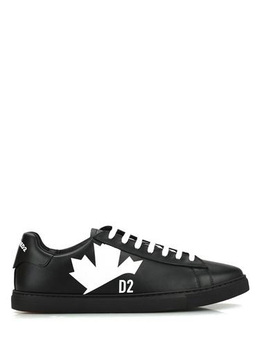 Dsquared2 Dsquared2  Erkek Deri Sneaker 101622858 Siyah